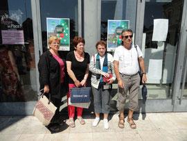 Quatre Avignonnais à Montauban