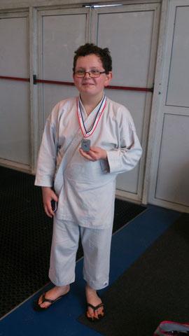 Troisième médaille de la saison pour Alan ! Bravo !