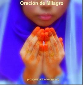 ORACIÓN DE MILAGRO - PROSPERIDAD UNIVERSAL