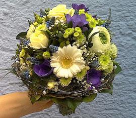 Brautstrauß Hochzeitsfloristik Gärtnerei Lächele