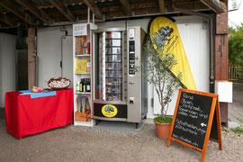 Selbstbedienungs-Kühlschrank, rund um die Uhr, 7 Tage pro Woche geöffnet