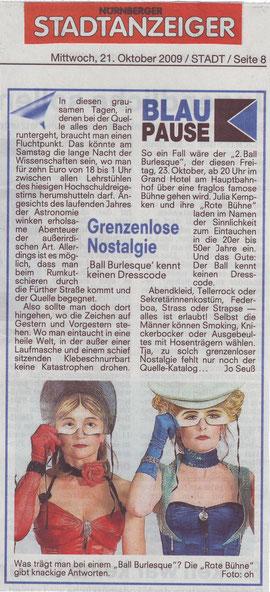 Nürnberger Stadtanzeiger, 21.10.09