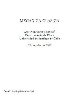 Mecánica Clásica_USACH_2000