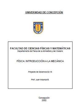 Introducción a la Mecánica_UdeC_2002