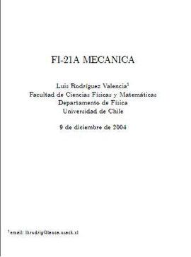 Física_Mecánica_Cinemática y Dinámica_USACH_2004