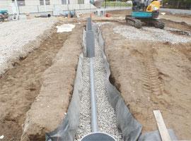 排水設備工事イメージ