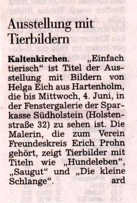Segeberger Zeitung 10.04.2014