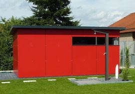 Bild Gartenhaus Pickel Alitzheim Metallbau