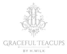 Graceful Teacups By H.Wilk