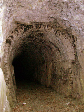 Tunnel der Diabas-Bahn im Kreuztal (Aufnahme: Dr. Richard Vogel, Berlin)