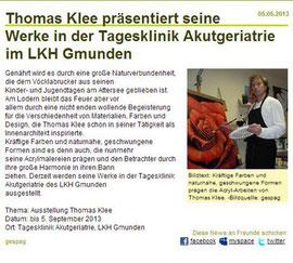 Tagesklinik Akutgeriatrie LKH Gmunden