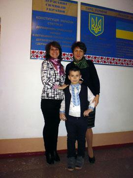 Моя підтримка - мама (ліворуч) та Неля Петрівна Кінашевська (праворуч)