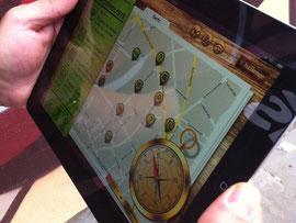 iPad-Rallye, iPad-Rallye für Firmen, iPad Rallye, teamevent.de, Teamevent, Firmenevent, Betriebsausflug, Schnurstracks, Teambuilding, Strategiespiel, Schnitzeljagd,