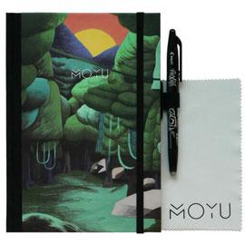 Het MOYU premium boekje met de cover 'Funky Forrest' (foto ©Moyu)