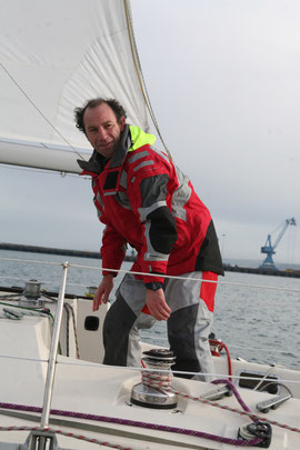 Thierry Fortin, skipper Professionnel Cotentin Croisières
