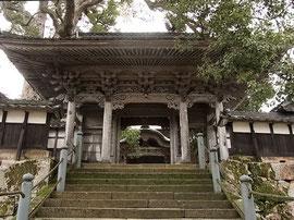 「大乗寺」山門
