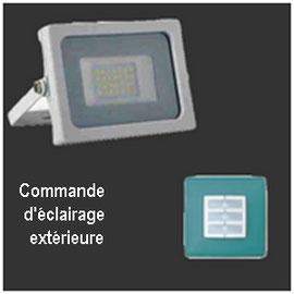 Commande d'éclairage extérieur à distance, C-automatique