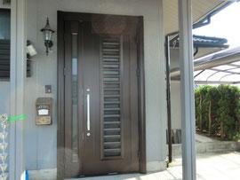 YKK リフォーム玄関ドア 小規模リフォーム