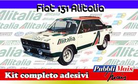 FIAT 131 ABARTH CORSE ALITALIA