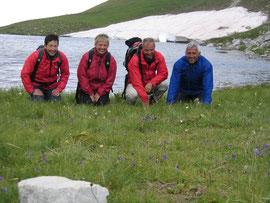 mit Sabine, Monika, Michael und Gerhard