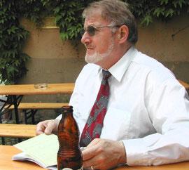 Oskar Umbricht (beim letzten Textstudium)