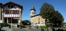 L'église d'Ainhoa