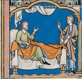 Maciejowski-Bibel: Folio 20v