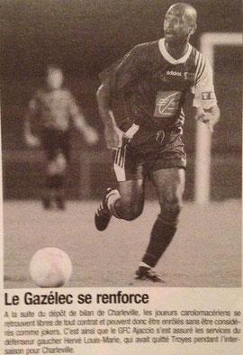 Louis-Marie arrivé en cours de saison au Gz