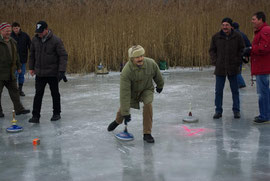 12.1.2008: Eisstock-Ortsmeisterschaft