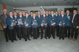7.3.2008: Neue Sängermappen von der Raiba St. Marienkirchen