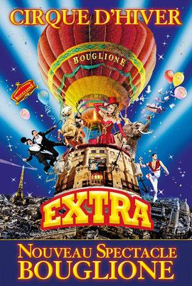 Cirque d'hiver bouglione nouveau show 2020 2021 Spectacles de noël