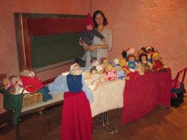 Mein Puppenstand beim Martinsmarkt unserer örtlichen Waldorfschule