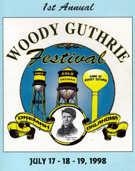 Woody Guthrie Festival 1998 Programm Cover