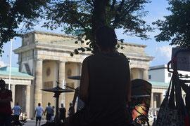 Straßenmusik Berlin Brandenburger Tor