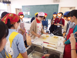 大阪市内の小学校PTA様 成人教育講座☆フライパンで作れるハロウィンパン講座