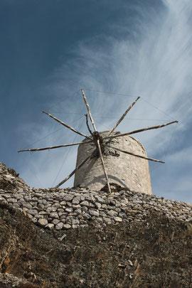 eine von  70 Windmühlen in Olympos
