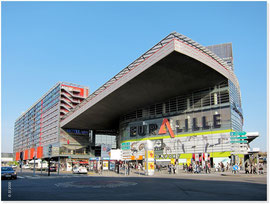 FRANCE - Mall, overhang of 22 m2