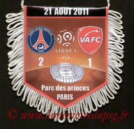 Fanion  PSG-Valenciennes  2011-12