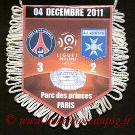Fanion  PSG-Auxerre  2011-12