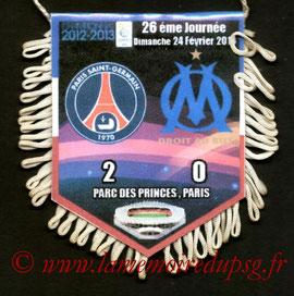 Fanion  PSG-Marseille  2012-13