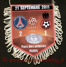 Fanion  PSG-Nice  2011-12