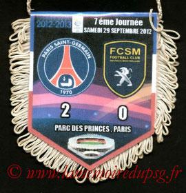 Fanion  PSG-Sochaux  2012-13