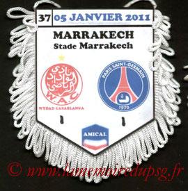 Fanion  Casablanca-PSG  2010-11
