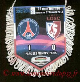 Fanion  PSG-Lille  2012-13