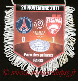 Fanion  PSG-Nancy  2011-12