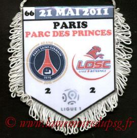 Fanion  PSG-Lille  2010-11
