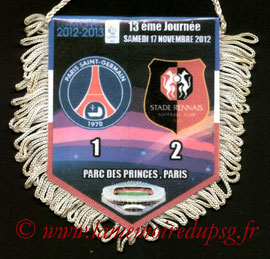 Fanion  PSG-Rennes  2012-13