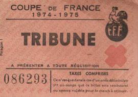 1975-03-02  Sète-PSG (16ème Finale Aller CF, Sans nom)
