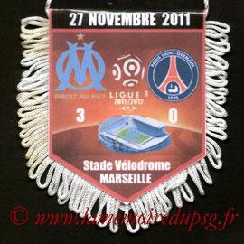 Fanion  Marseille-PSG  2011-12