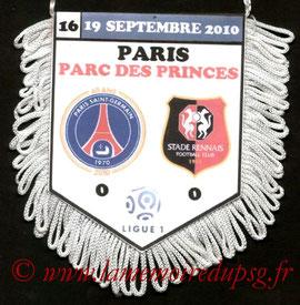 Fanion  PSG-Rennes  2010-11